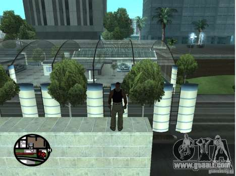 Doherty Plaza-new Dorothy for GTA San Andreas third screenshot