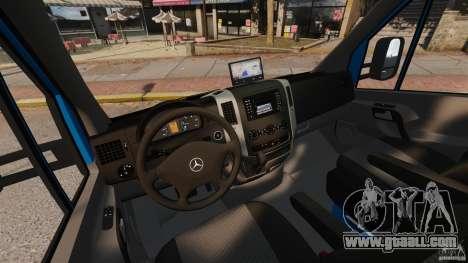 Mercedes-Benz Sprinter 3500 Car Transporter for GTA 4 inner view