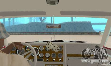 Pontiac Grand Prix 1985 for GTA San Andreas inner view