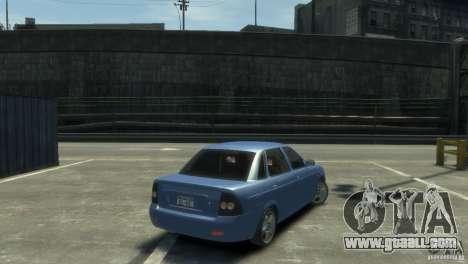 Lada Priora for GTA 4 left view