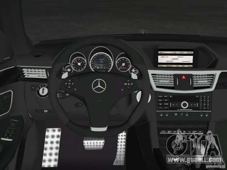 Mercedes-Benz E63 AMG for GTA Vice City engine