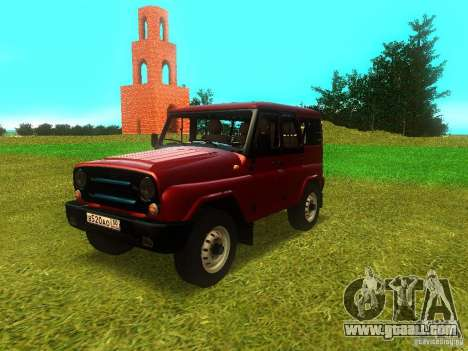 UAZ 315148 for GTA San Andreas side view