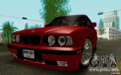 BMW E34 540i Tunable for GTA San Andreas left view