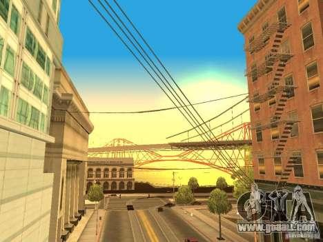 New Sky Vice City for GTA San Andreas forth screenshot