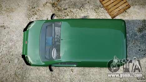 Fiat Fiorino 2008 Van for GTA 4 right view