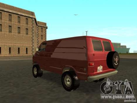 Dodge Tradesman 7z for GTA San Andreas left view