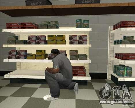 New Ammunation for GTA San Andreas second screenshot