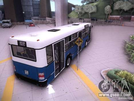 Ikarus 415 for GTA San Andreas back left view