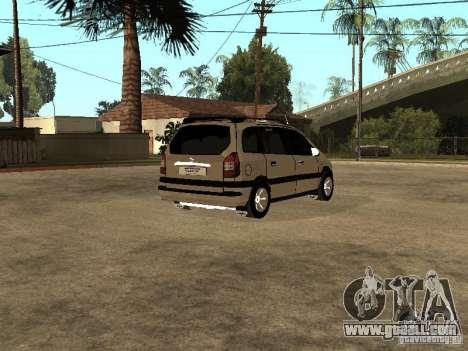 Opel Zafira for GTA San Andreas right view