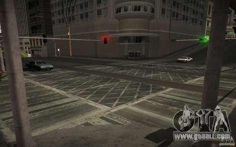 HD road (GTA 4 in SA) for GTA San Andreas seventh screenshot