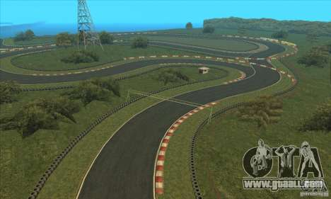 GOKART track Route 2 for GTA San Andreas