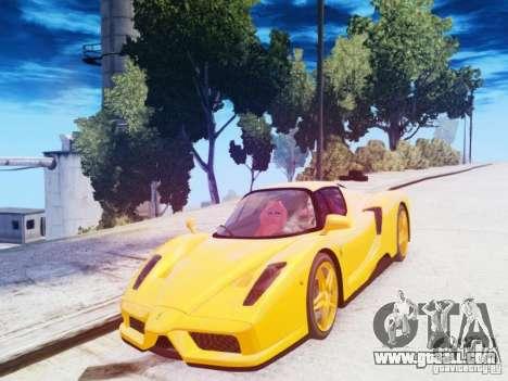 Ferrari Enzo 2002 for GTA 4 inner view