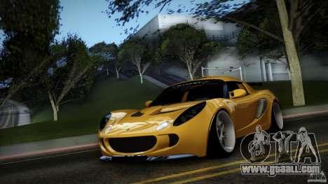 Lotus Exige Track Car for GTA San Andreas inner view