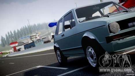 Volkswagen Golf Mk1 for GTA 4 engine