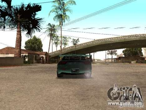 Mazda RX-7 Pro Street for GTA San Andreas back left view