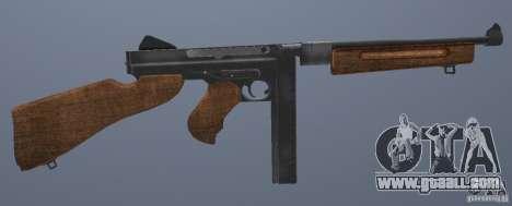 M1 Thompson for GTA San Andreas forth screenshot