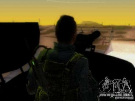 Suv Call Of Duty Modern Warfare 3 for GTA San Andreas interior