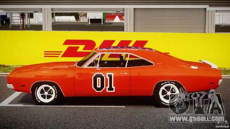 Dodge Charger General Lee 1969 for GTA 4 inner view