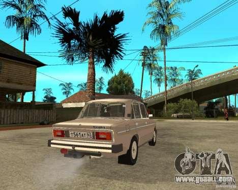 VAZ 21065 for GTA San Andreas back left view