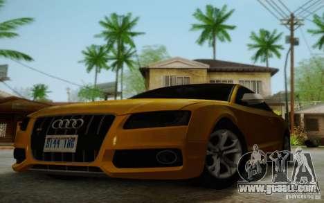 Audi S5 for GTA San Andreas upper view