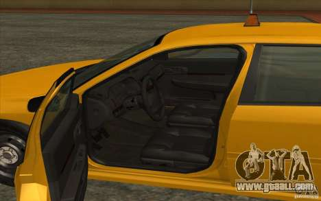 Chevrolet Impala Taxi 2003 for GTA San Andreas back left view
