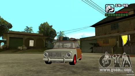 Lada 2101 OnlyDropped for GTA San Andreas
