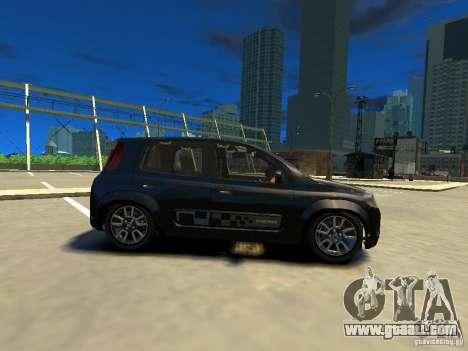 Fiat Novo Uno Sporting for GTA 4 left view