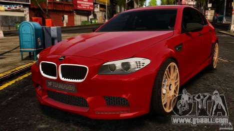 BMW M5 F10 2012 Hamann for GTA 4