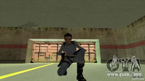 Lara Croft for GTA San Andreas fifth screenshot