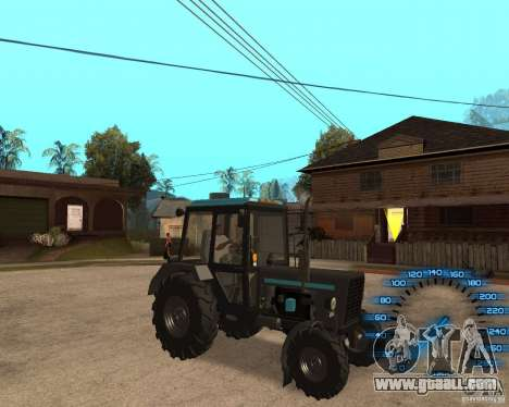 Tractor MTZ-80 for GTA San Andreas left view