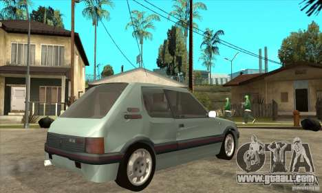 Peugeot 205 GTI v2 for GTA San Andreas right view