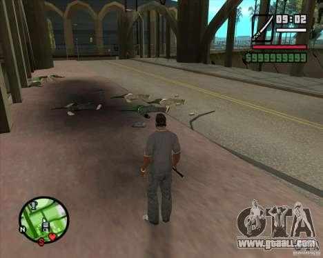 Chidory Mod for GTA San Andreas third screenshot