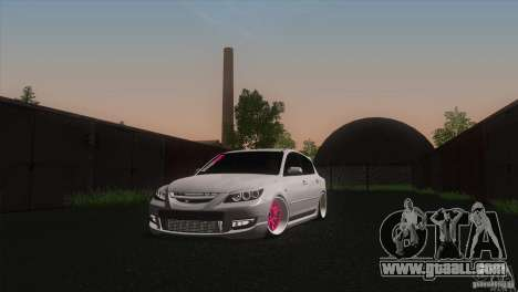 Mazda MazdaSpeed 3 for GTA San Andreas