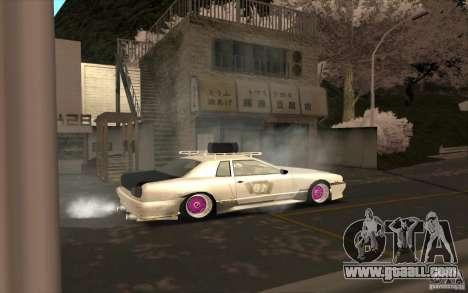 Elegy Rat by Kalpak v1 for GTA San Andreas upper view