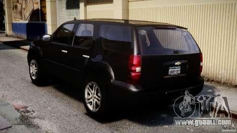 Chevrolet Tahoe 2007 for GTA 4 back left view