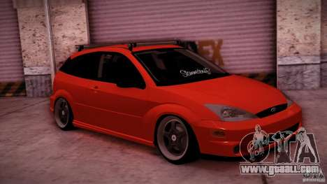 Ford Focus SVT Clean for GTA San Andreas left view