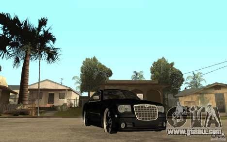 Chrysler 300C DUB for GTA San Andreas back view