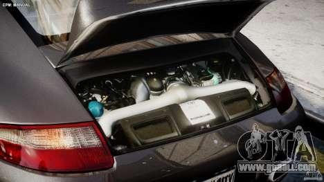 Porsche 911 Turbo for GTA 4 inner view
