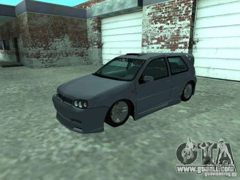 Volkswagen Golf IV for GTA San Andreas upper view