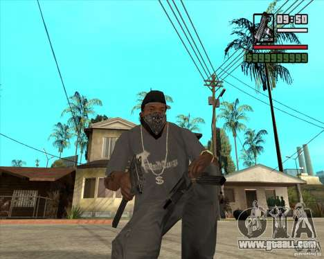 Millenias Weapon Pack for GTA San Andreas forth screenshot