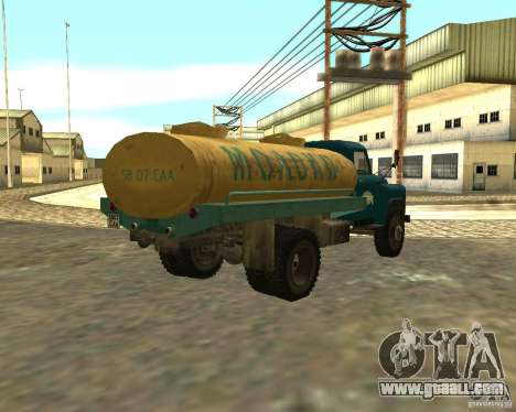GAZ 53-12 TRUCK-3 for GTA San Andreas back left view
