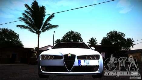 Alfa Romeo 159 Ti for GTA San Andreas inner view
