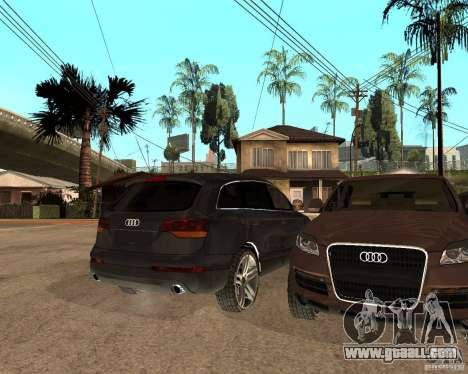 Audi Q7 4.2 FSI for GTA San Andreas right view