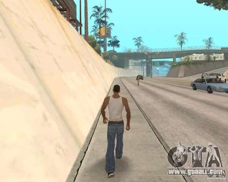 Sprint System v1.0 for GTA San Andreas third screenshot
