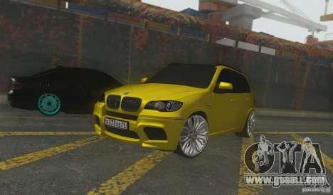 BMW X5M Gold Smotra v2.0 for GTA San Andreas