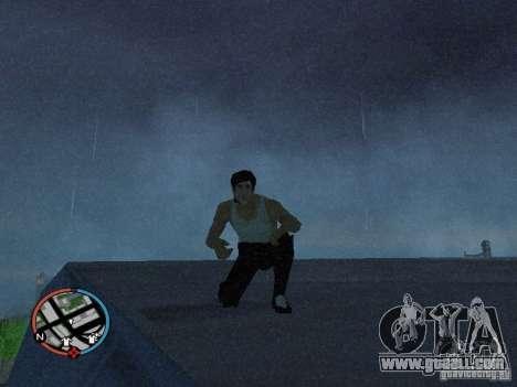 Bruce Lee Skin for GTA San Andreas second screenshot