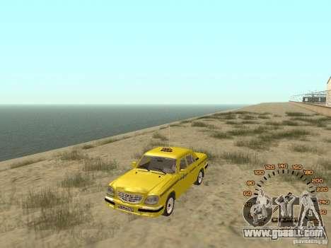 Gaz-31105 taxi for GTA San Andreas