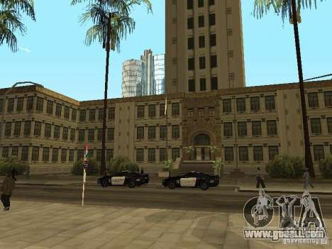 Emergency exit of the LSPD for GTA San Andreas
