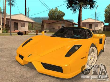 Ferrari Enzo 2010 for GTA San Andreas back left view