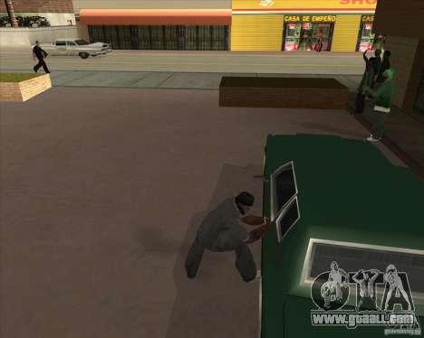 Car in Grove Street for GTA San Andreas twelth screenshot